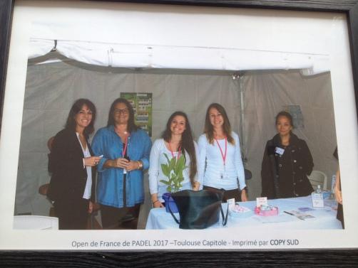 Adjointe au maire, Wendy Belcour, Bénédicte, Dorothée et Elodie